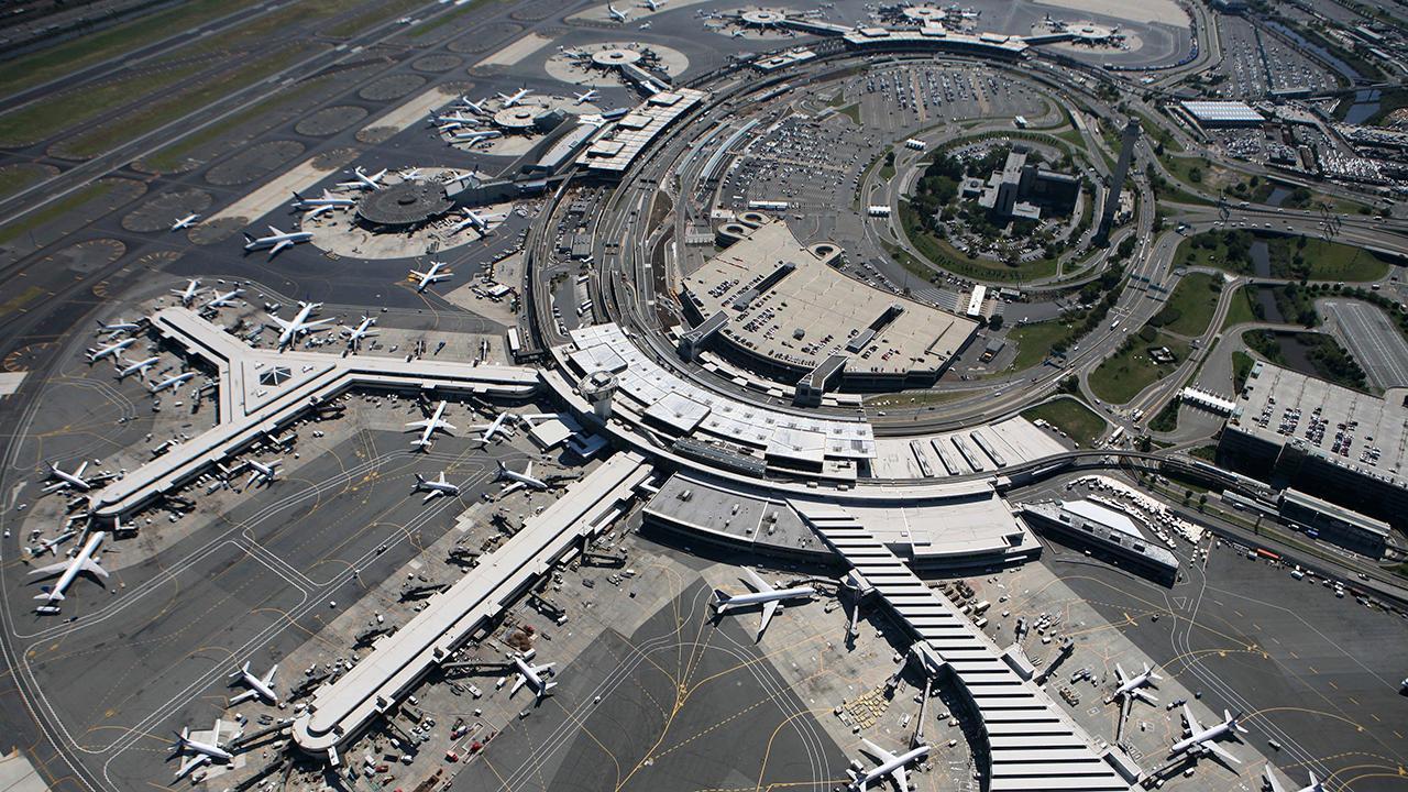 Drone sighting halts arriving flights at Newark airport in NJ
