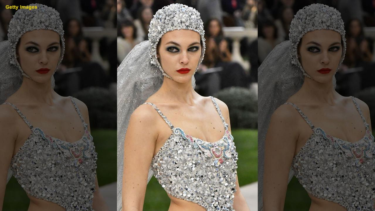 Chanel Debuts 'wedding Dress'-inspired Swimsuit During