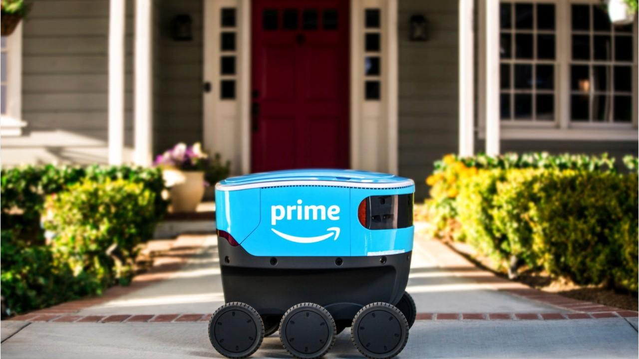 Meet Scout, Amazon's new delivery robot that is aiming to help solve the last-mile problem.