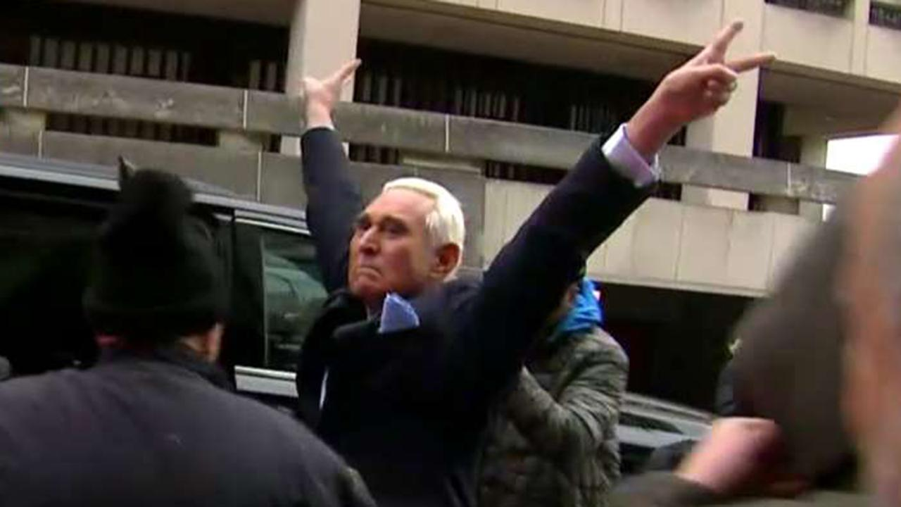 Roger Stone pleads not guilty to seven counts, including lying to Congress and witness tampering