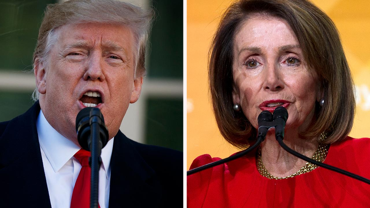 Voters in Democratic districts back the wall, Pelosi's approval rating drops