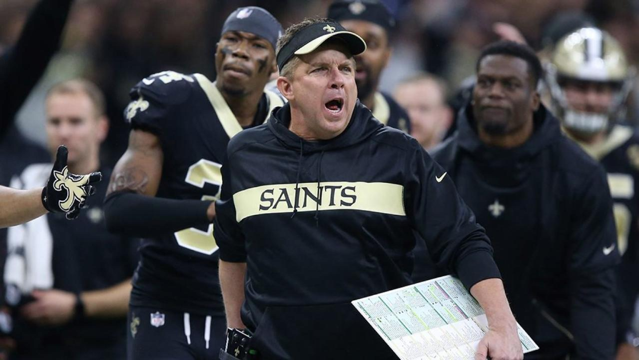 New Orleans Saints manager takes puncture during Roger Goodell with jester T-shirt