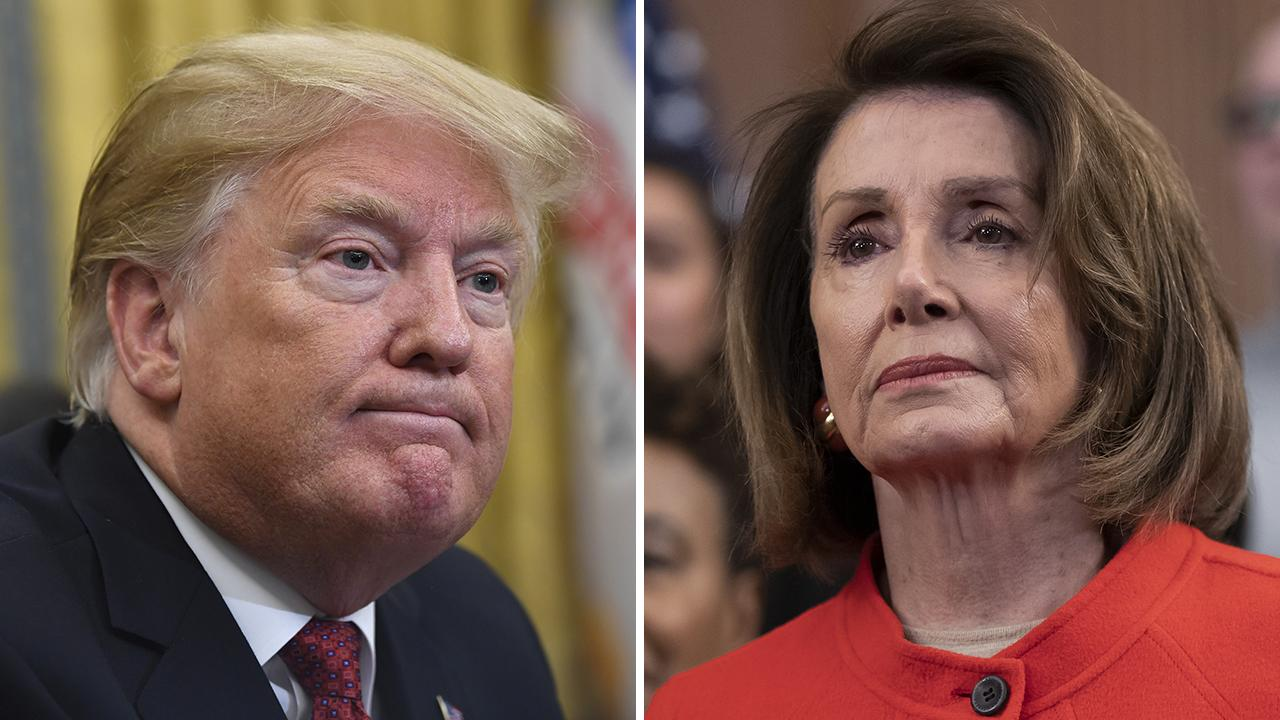 photo image Pelosi undermines Trump abroad on US-UK trade deal, says 'no chance' if Brexit hurts Irish peace accord