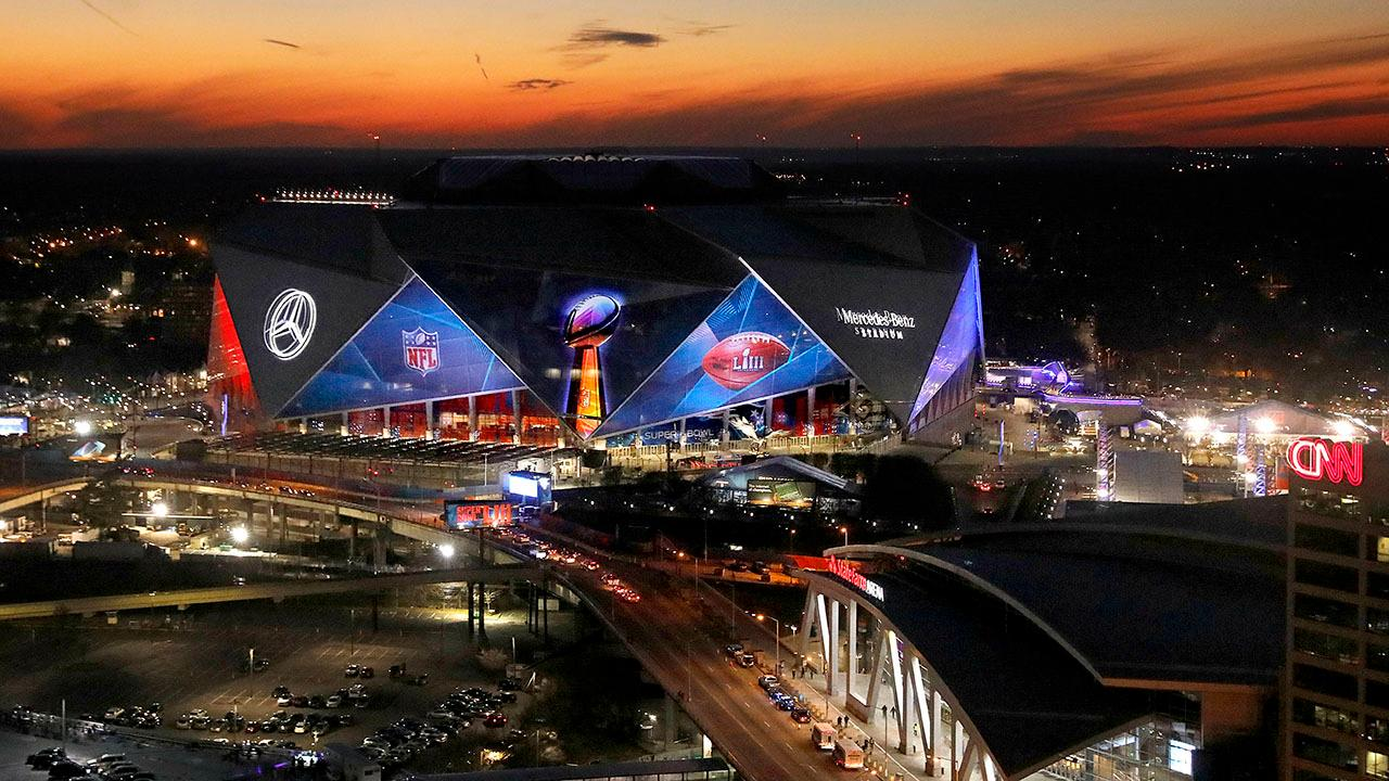 Atlanta gears up for Rams-Patriots match-up during Super Bowl LIII