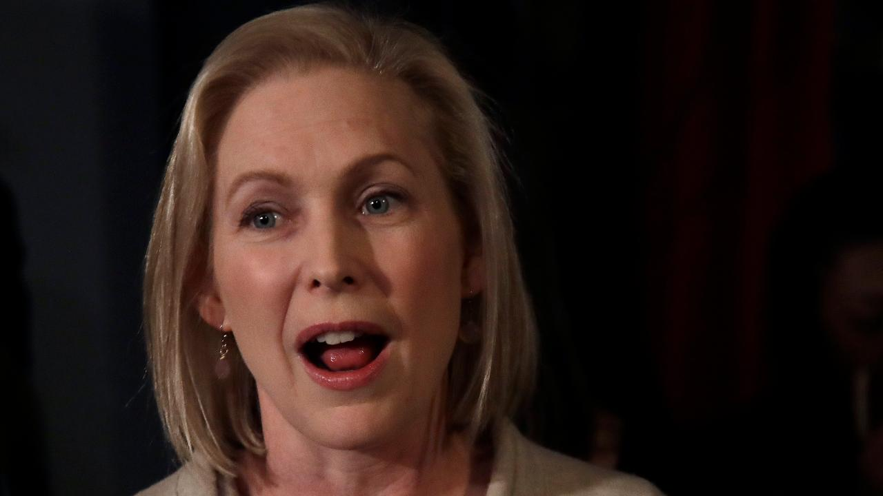 Gillibrand interrupted in Iowa by restaurant patron seeking ranch dressing