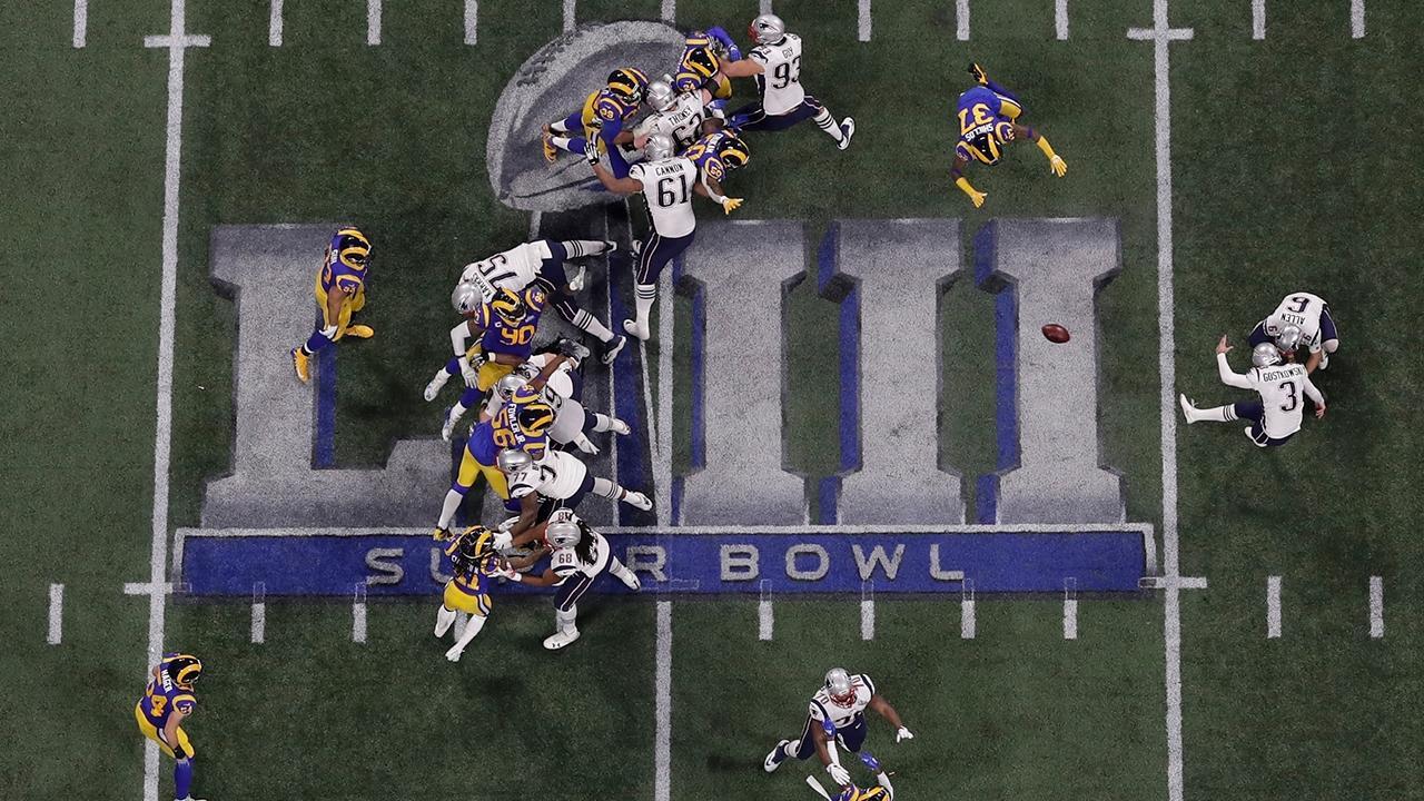 Patriots defeat Rams 13-3