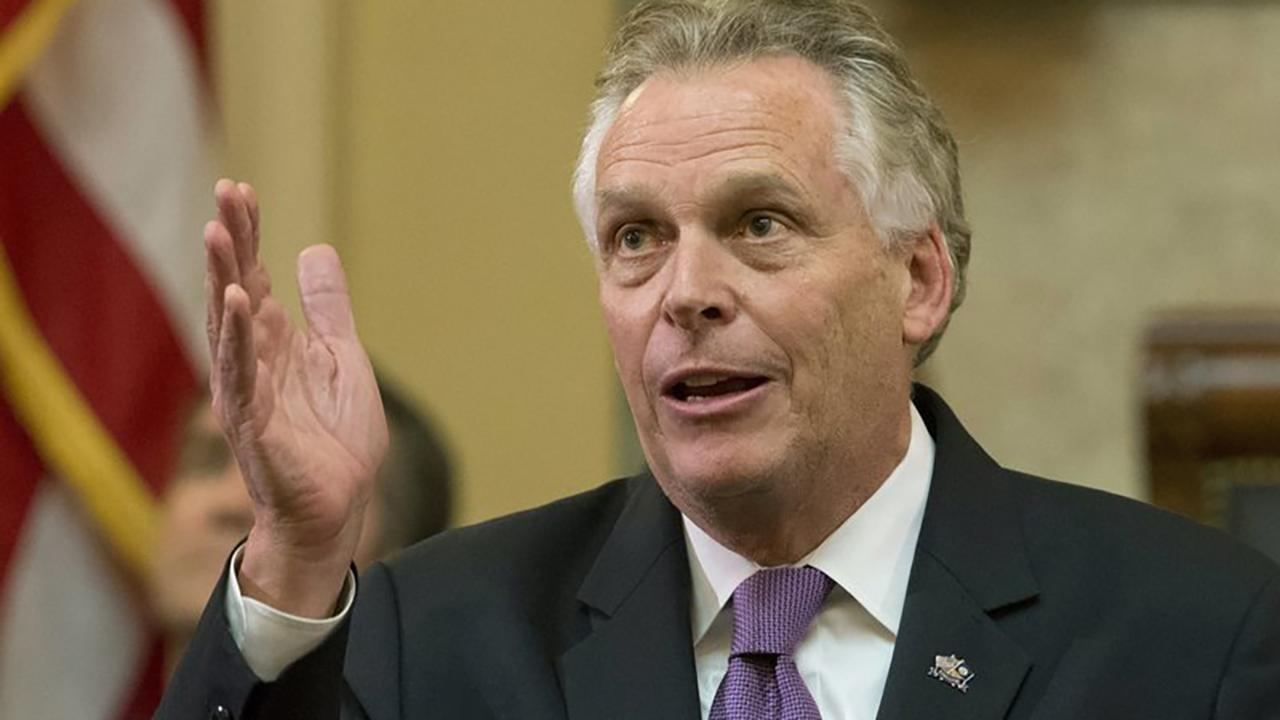 Westlake Legal Group 694940094001_5998251524001_5998248229001-vs Terry McAuliffe says he won't run in 2020, wants to tackle 'problems' in Virginia Joseph Wulfsohn fox-news/us/us-regions/southeast/virginia fox-news/politics/elections/democrats fox-news/politics/2020-presidential-election fox news fnc/politics fnc article 6a943317-4fed-585a-8210-0a9e2c8303de