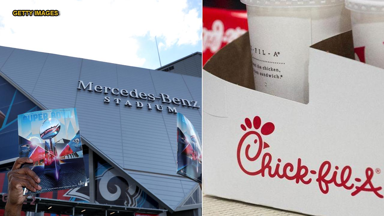Chick-fil-A at Mercedes-Benz stadium transformed into completely different eatery on Super Bowl Sunday