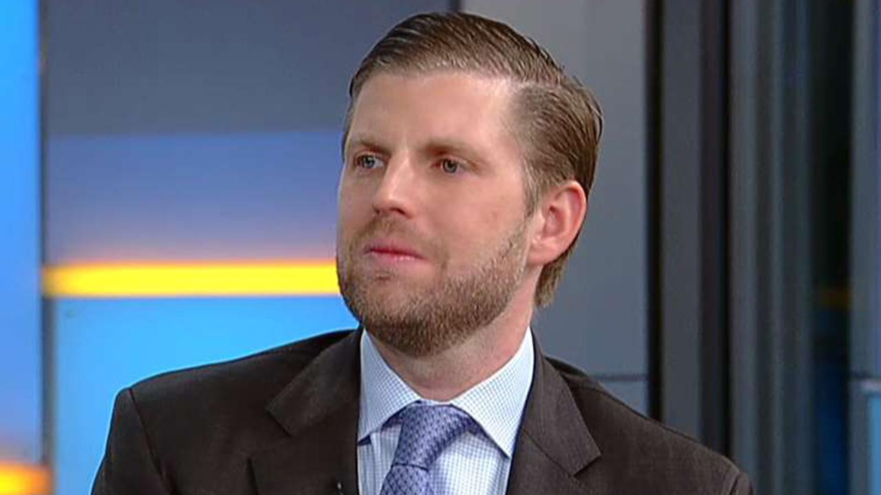 Eric Trump: Walls work and President Trump is going to win this one