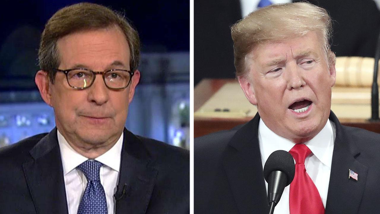 Wallace: Trump's SOTU speech was not effective in trying to make legislative progress in 2019