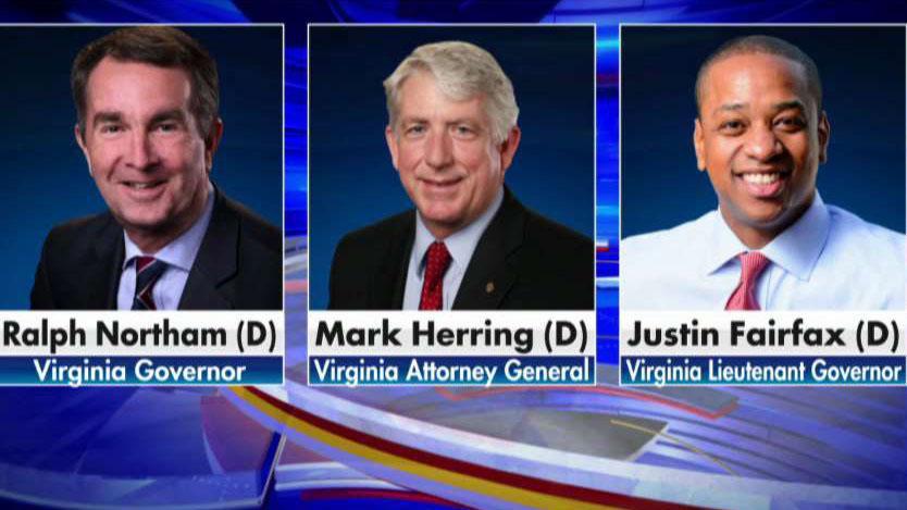 Top three Democrats in Virginia face pressure to resign