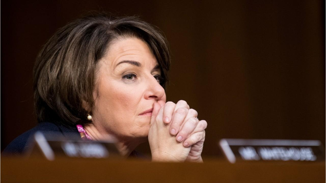Amy Klobuchar allegedly mistreated staffers, sees difficulty getting team for 2020 run: report
