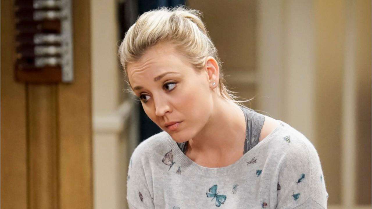'Big Bang Theory' star Kaley Cuoco shares steamy lingerie photo