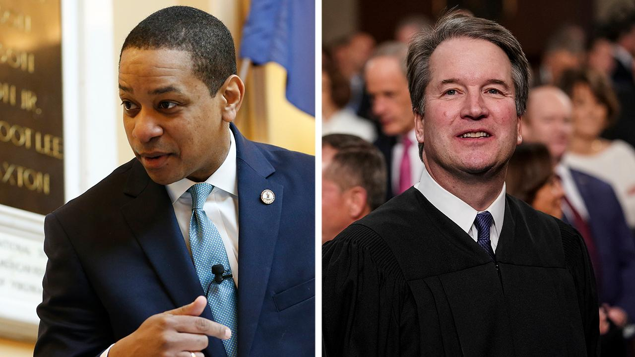How differently have Democrats treated the Fairfax allegations compared to those against Kavanaugh?