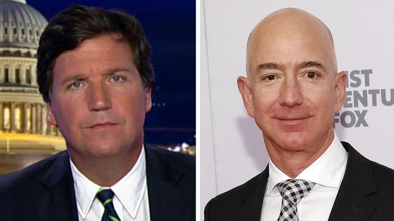 Tucker: Mainstream media loves Jeff Bezos