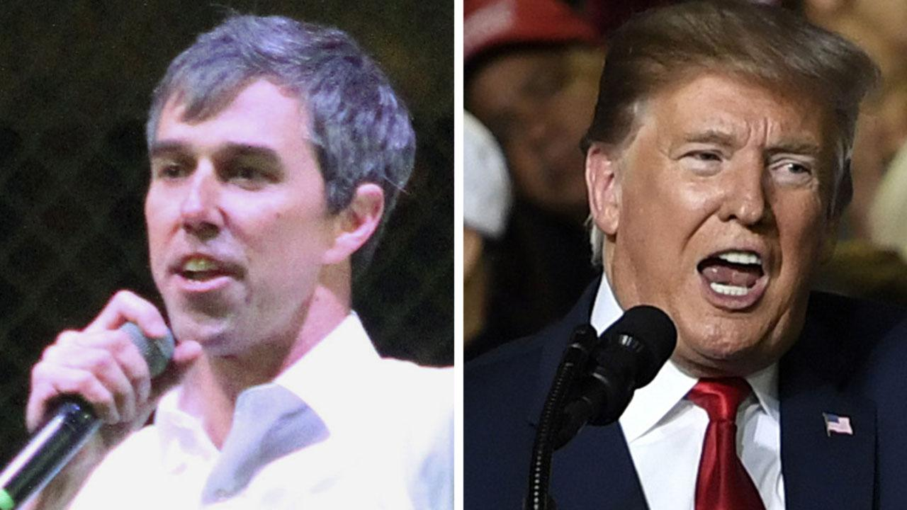 President Trump and Beto O'Rourke hold dueling rallies in El Paso