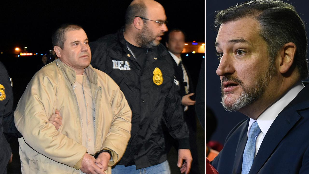 Ted Cruz wants El Chapo to compensate for a limit wall