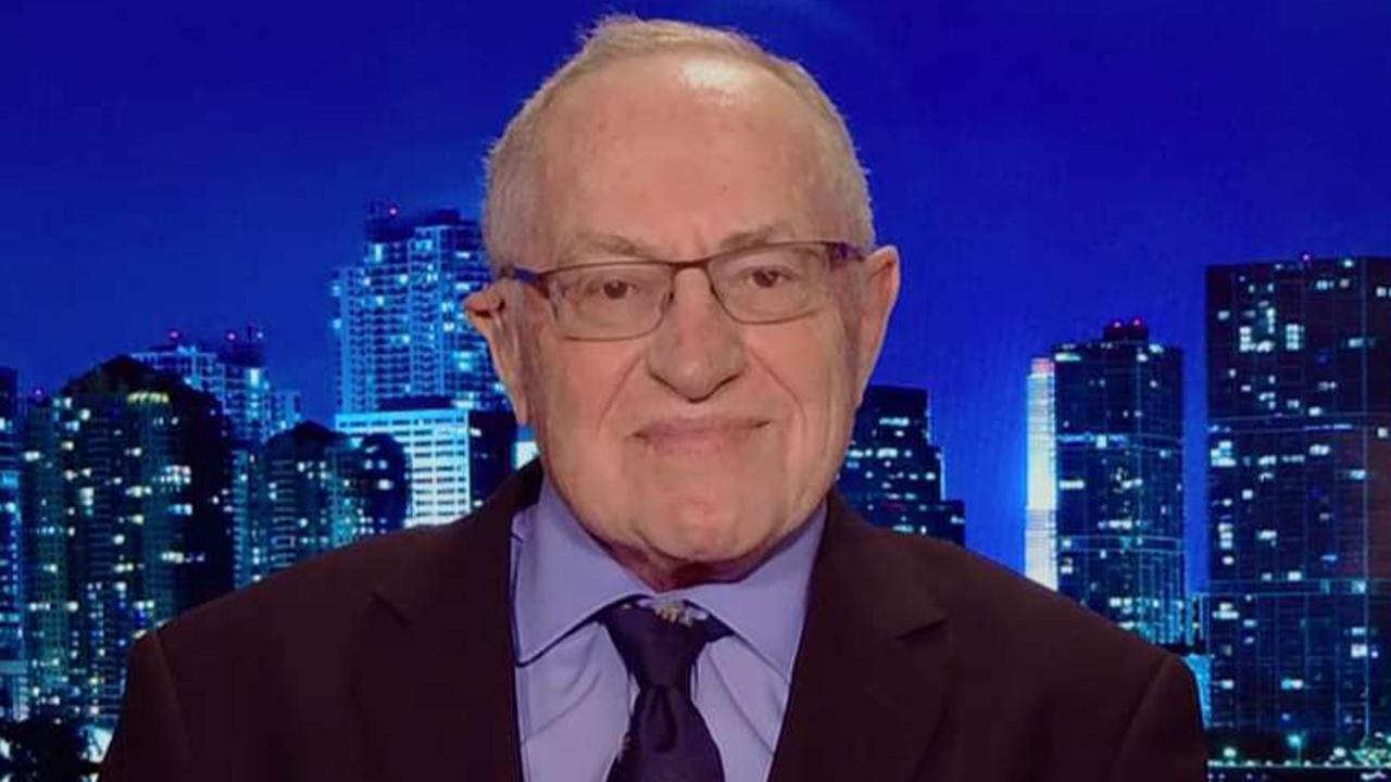 Dershowitz says if the DOJ tried to use the 25th Amendment to oust Trump they have attempted a 'coup d'état'
