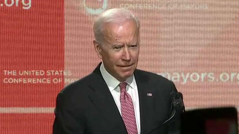 Biden slams Trump's treatment of European allies as speculation mounts of possible 2020 run