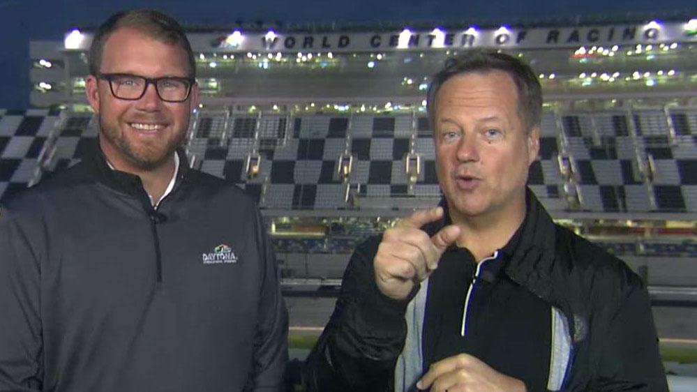 Rick is live from the Daytona 500