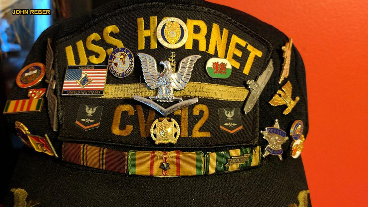 Spirit Airlines attendant reunites Vietnam veteran with prized hat lost on flight