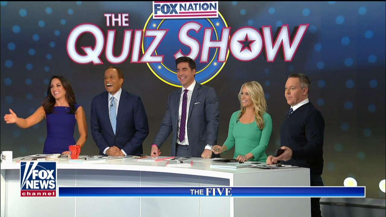 """'The Five' plays Quiz Show"" with Tom Shillue."