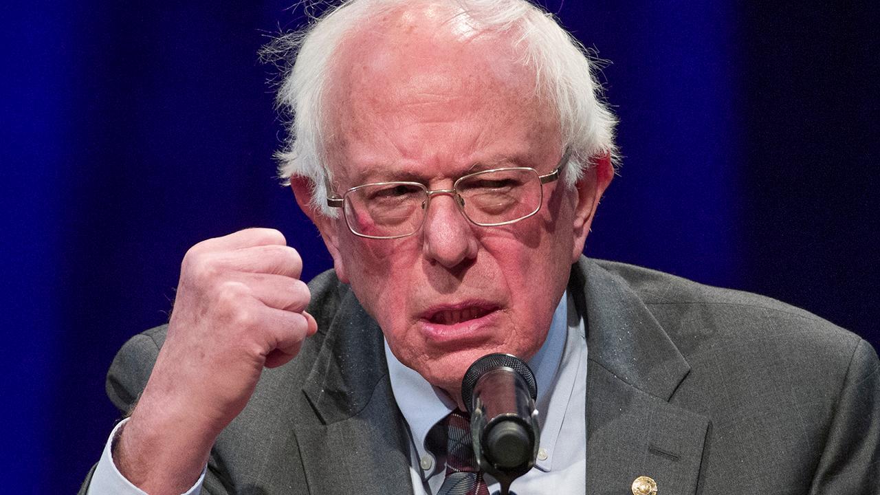 Sen. Bernie Sanders slammed for private jet use