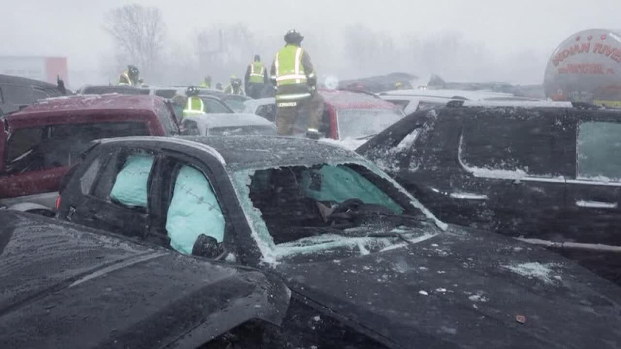 Video of deadly 131-car Wisconsin pileup released - Fox News thumbnail