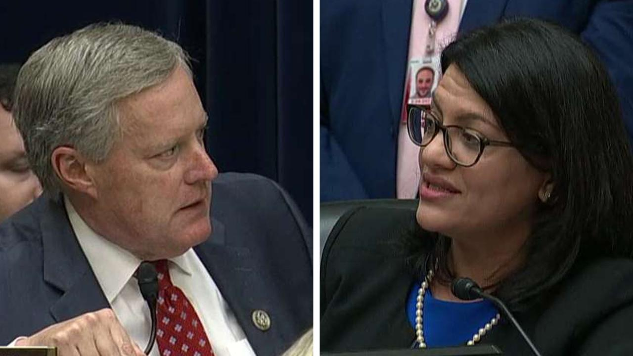 Reps. Tlaib and Meadows clash during Michael Cohen testimony