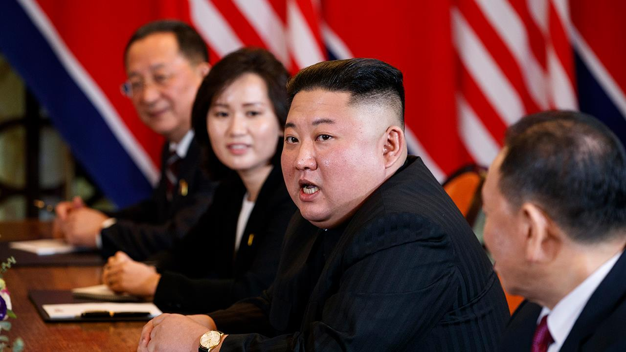 Kim Jong Un takes questions from foreign press for first time
