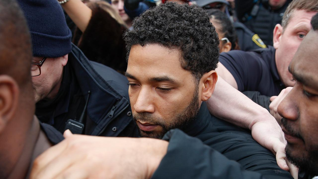 Celebrities painting Jussie Smollett as a victim?