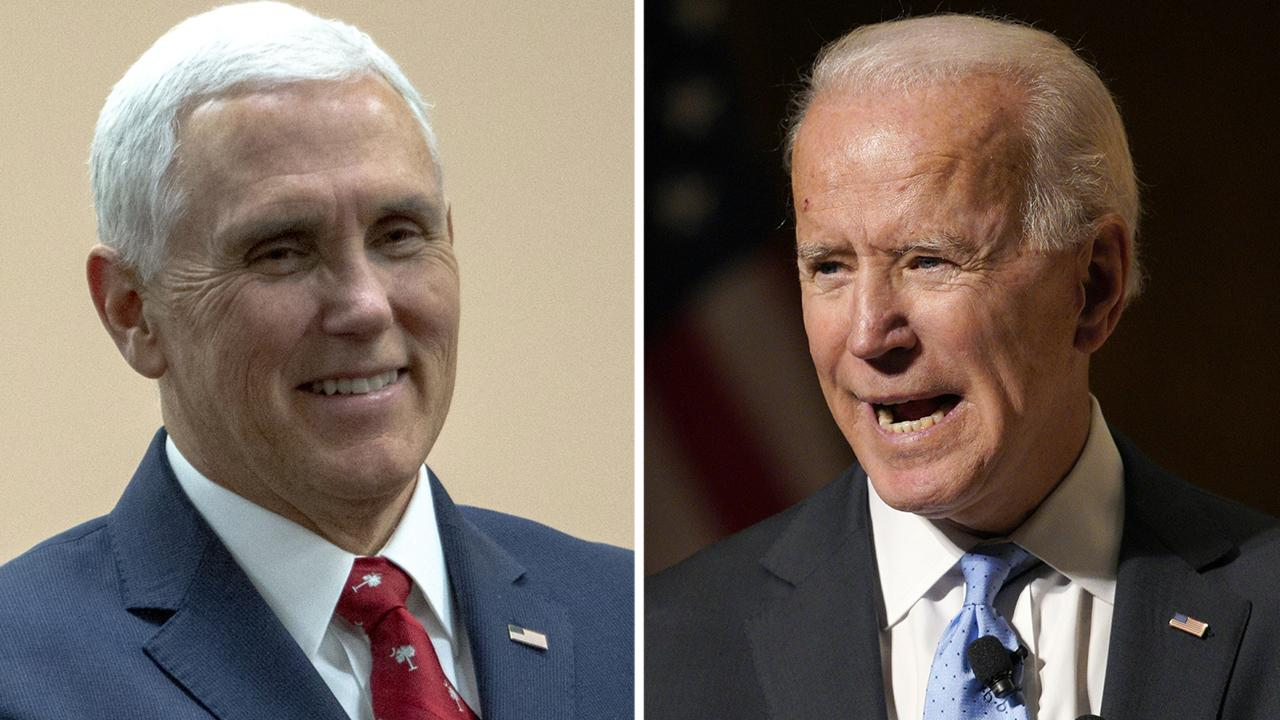 Joe Biden refers to Vice President Pence as a 'decent guy'