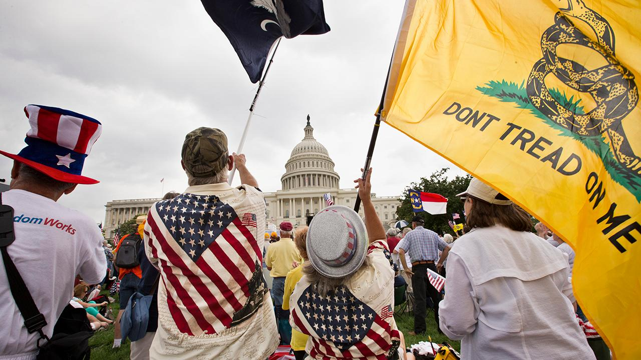 The conservative Tea Party movement celebrates its 10-year anniversary