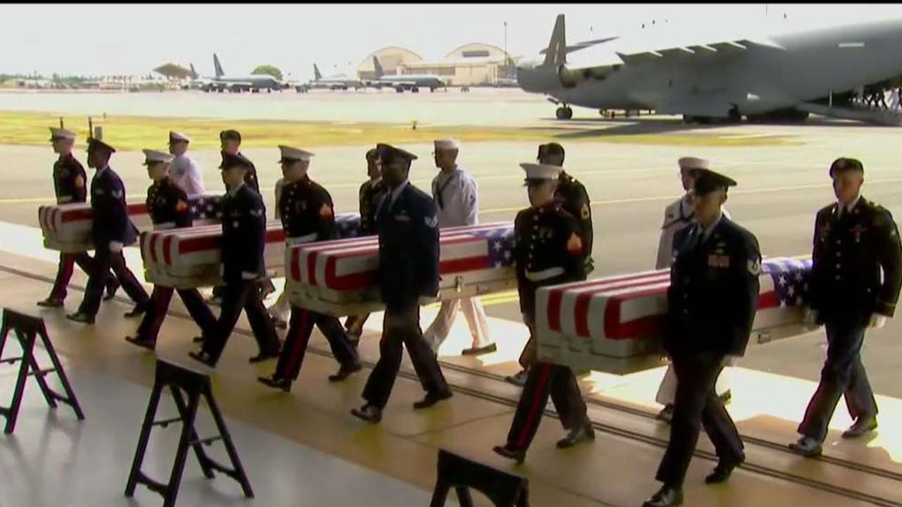 Pentagon suspends efforts to recover troop remains from ...