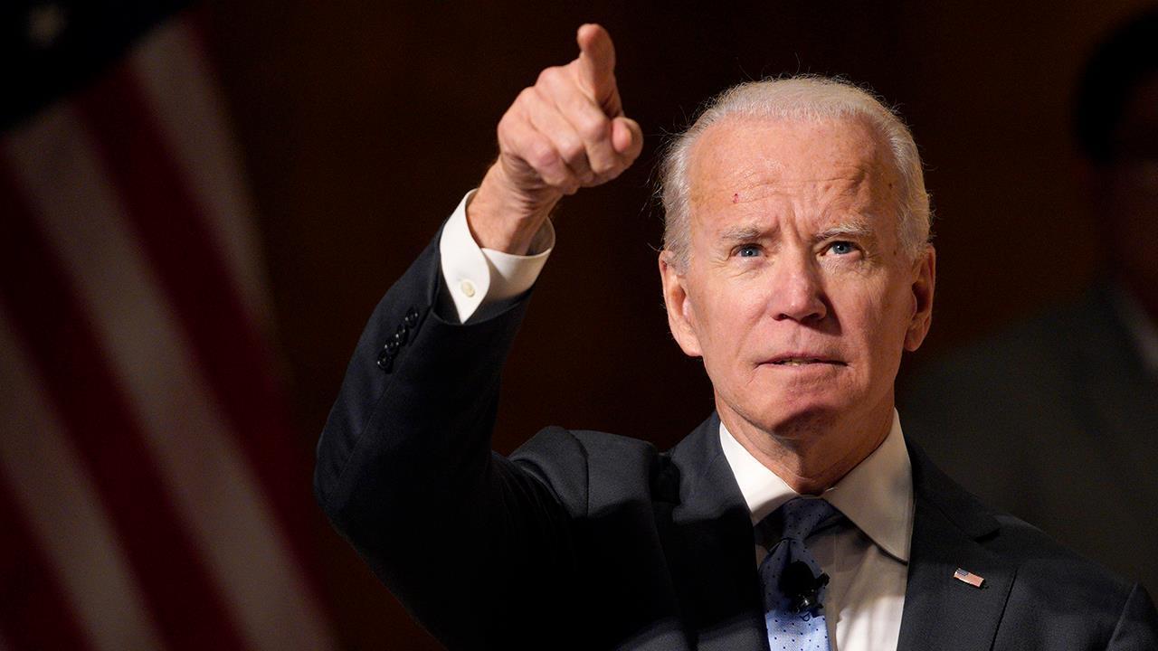 Is rumored 2020 hopeful Joe Biden already caving to the resistance?