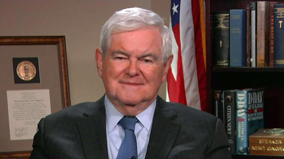 Newt Gingrich: House Democrats making same mistakes Republicans did 20 years ago