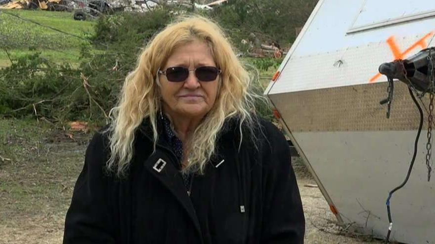 Tornado survivor on massive twister that ripped through her community: It sounded like a train