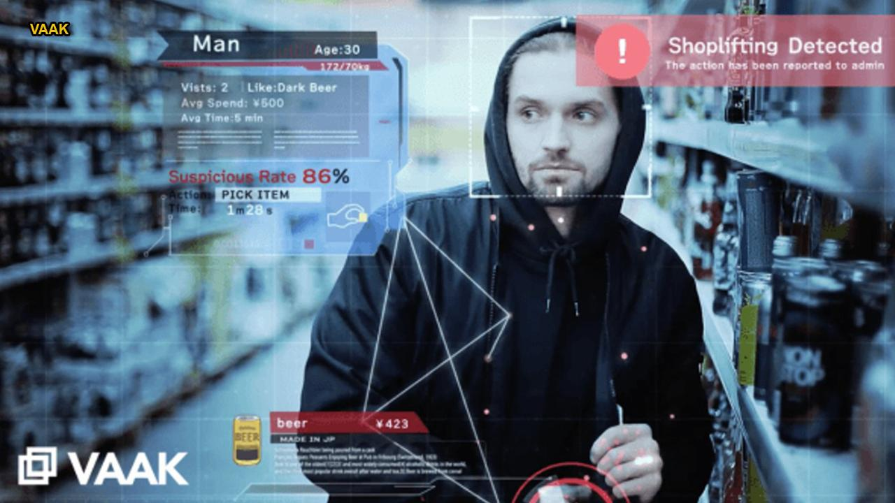 Creepy AI will reportedly mark shoplifters before they steal