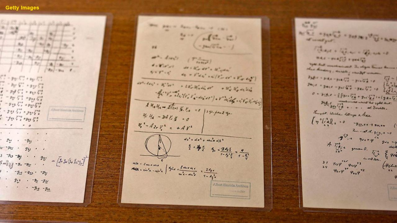 Famous Einstein 'puzzle' solved as missing page comes to light