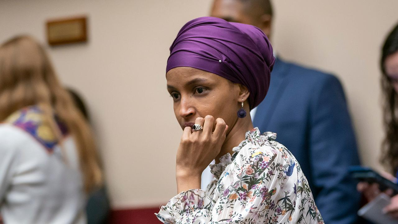 Omar retweets post blasting Meghan McCain for 'faux outrage' in response to Omar's remarks on Israel thumbnail