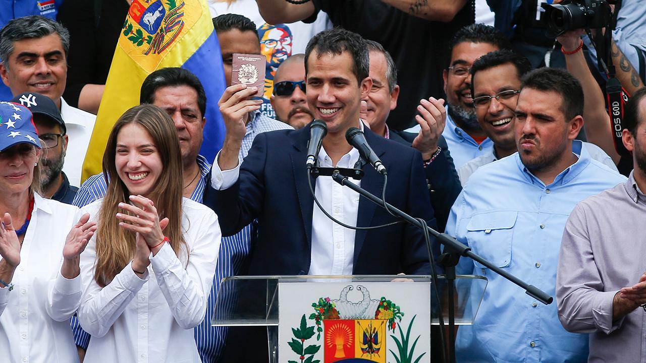 Democrats split over President Trump's Venezuela policy