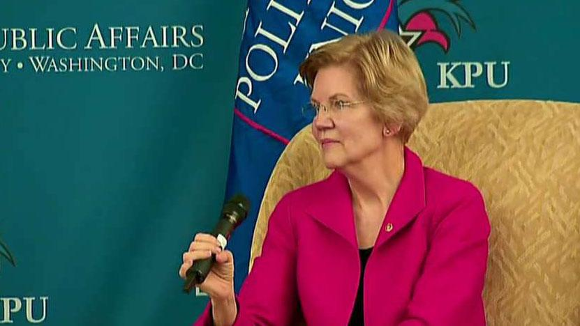 Sen. Elizabeth Warren says she wants to break up Google, Amazon, and Facebook