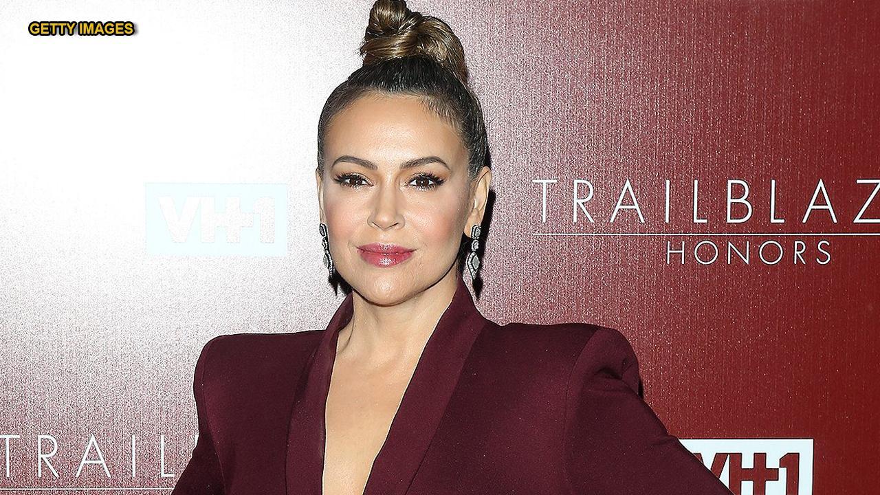 Alyssa Milano Movie Clips alyssa milano slammed for calling herself trans, immigrant