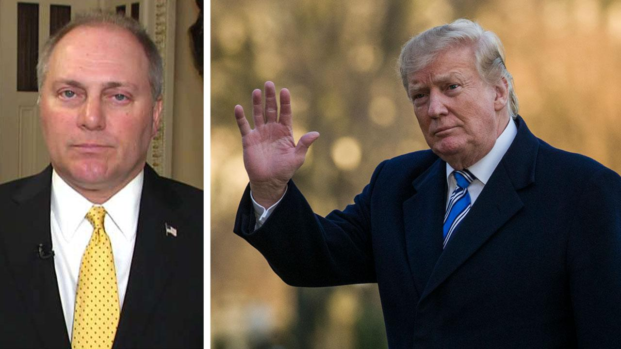 Rep. Steve Scalise says Trump's 2020 budget proposal shows the president is serious about securing the border