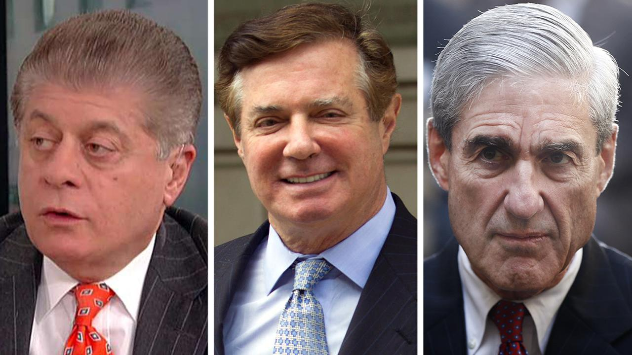 Judge Napolitano: How Mueller made Manafort's guilty plea pardon-proof