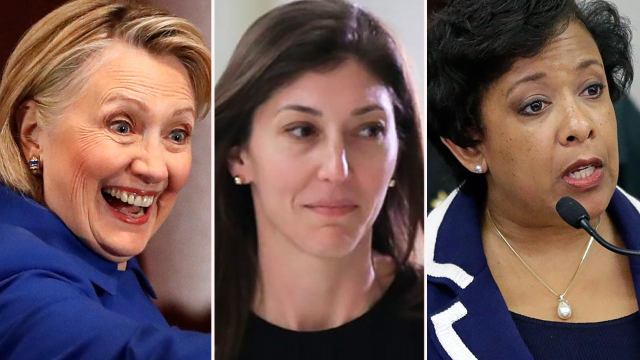New Lisa Page testimony reveals Loretta Lynch made decision not to prosecute Hillary Clinton over emails