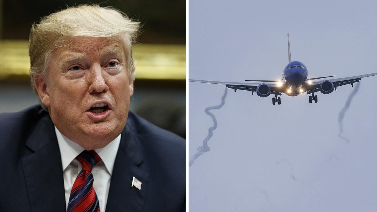 Former transportation official says Trump made right move grounding Boeing jets