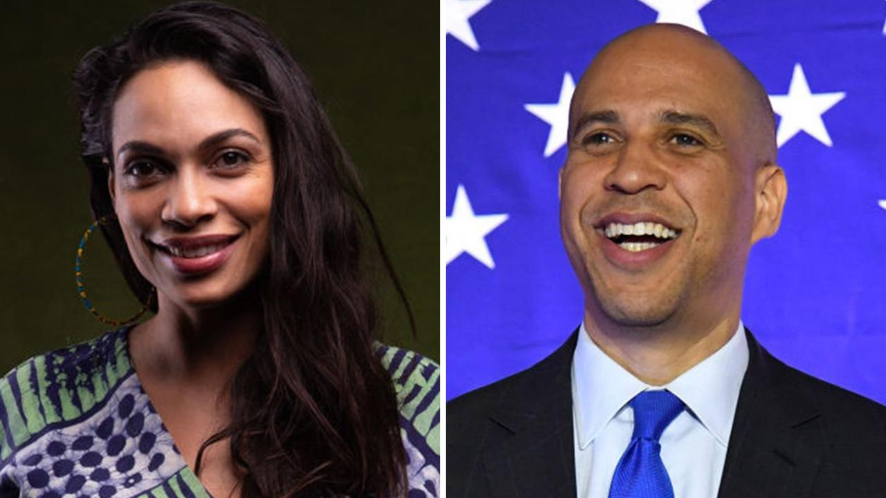Rosario Dawson confesses to Cory Booker romance: 'He's a wonderful human being'