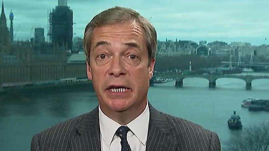 Nigel Farage: Brexit mess one of the most 'shameful episodes in the history of my country'