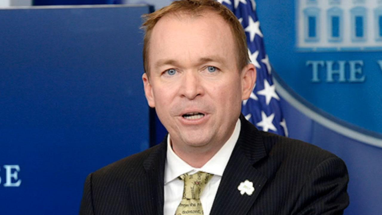 Mick Mulvaney discusses the tragic shooting in New Zealand, President Trump's first veto.